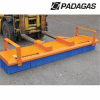 2.4m PADAGAS Mk3 Push-Broom c/w Fork Lift Tine Pockets