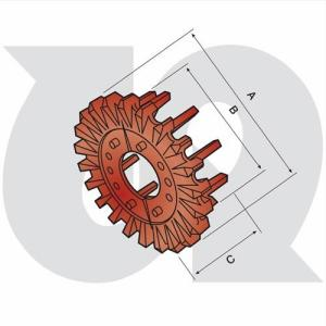 to fit UNDERHAUG / SCANSTONE Stone Separator - Sprockets (bolt-on) (7936)